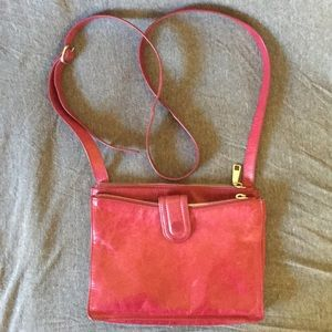 HOBO Red Cross-Body Purse